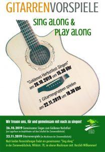 sing along & play along